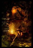 Spooky forest by Lillucyka