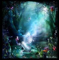 Lotus fairy by Lillucyka