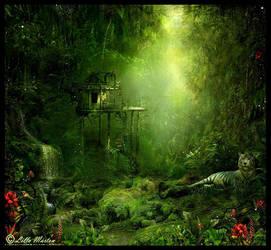 The jungle by Lillucyka