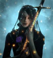 Iris Von Everec by Akunohako