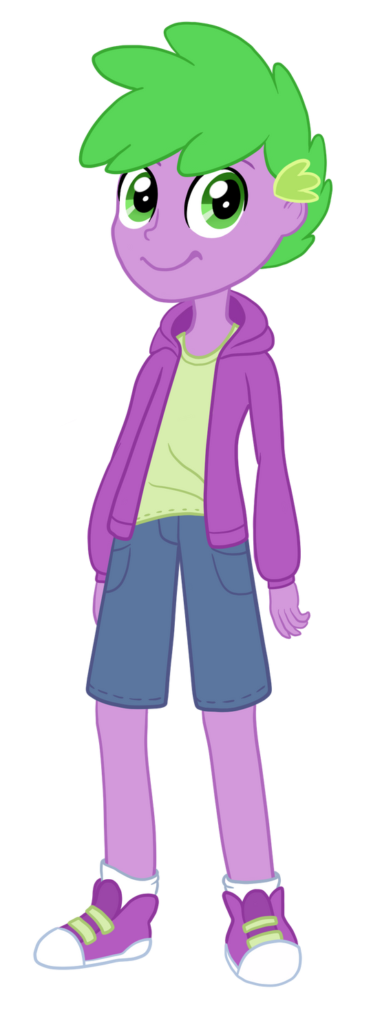 Human Spike Equestria Girls by TheCheeseburger on DeviantArt