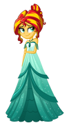 Sunset Shimmer Dress by TheCheeseburger