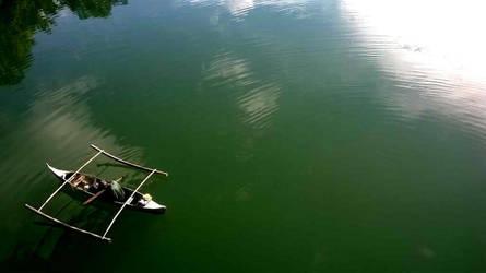 River Fishing by ayanamifaerudo