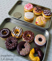 1 4 donuts so far by Snowfern