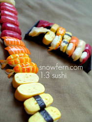 1 3 sushi train 2 by Snowfern
