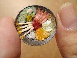 1-12 Sashimi Platter by Snowfern