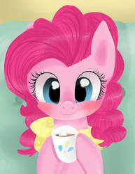 Pinkie at home by Urin-MP