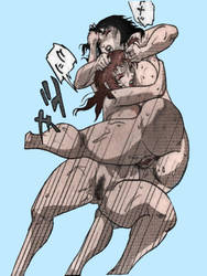 Chiyoki Cave Girl Catfight CHY1 KJK by kjkilbourne