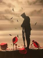 fallen soldier by Davethepioneer