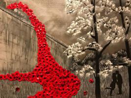Cascading poppy by Davethepioneer