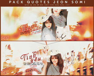 // 28.03.17 // Pack Quotes Jeon Somi // by ngocanhh