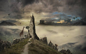 Dreamscape: Mt. Dream by JonKoomp
