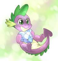 Spike's Crystal Heart by yassui