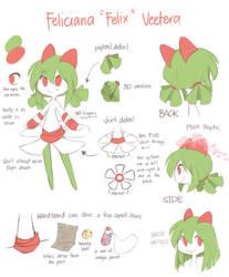 Feliciana (Felix) Reference sheet by yassui