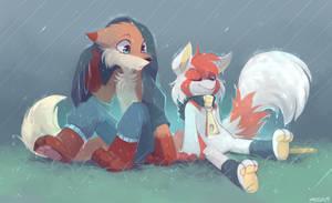 Rain by yassui
