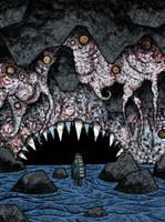 Wall of flesh by MisterRobertson