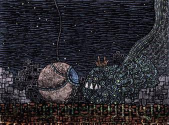 King of the sunken lands by MisterRobertson