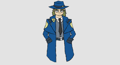 a Detective I guess? by inda26