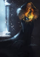 Sansa Stark of Winterfell by AngieParadiseeker