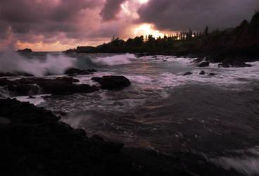 Sunset, Maui by maxpower