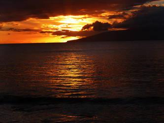Lahaina Sunset by maxpower