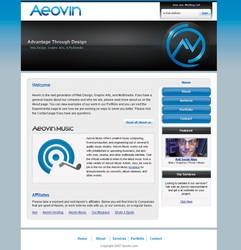 Aeovin Website by SystemOverload