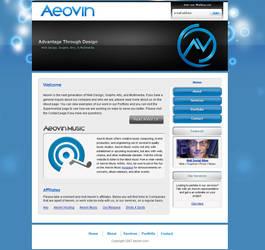 Aeovin Website 2 by SystemOverload