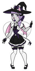 Batccubus Witch Adopt [Price Reduced] OPEN! by Celesaphii