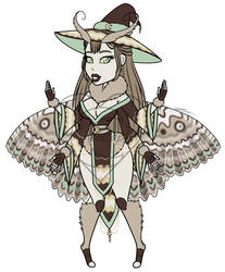 Moth Witch Adopt [price reduced] OPEN by Celesaphii