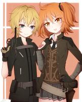 Billy and Gudako by sana37