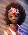 Curly Hair by RicoCilliers