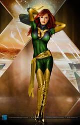 X Men Legends  Jean Grey   Phoenix By Silentar by cacarod2007