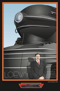 Raymond Loewy by yankeedog