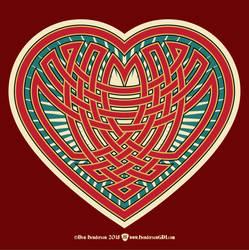 Celtic Heart by yankeedog