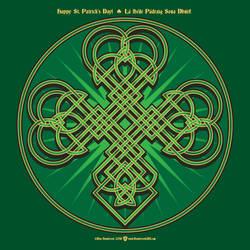 Shamrock for St Patrick by yankeedog