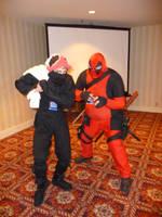 deadpool and the panty ninja by jakob-the-dragon-boy