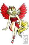 Dawn - HumanPoniesUnited Mascot Entry by PhoenixDawnCreations