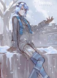 Aqua : Snowing Already? by bake2x