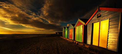 Boathouses by Phill-J