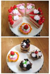 Felt Cakes 2 by zetallis