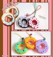 Felt Donuts by zetallis