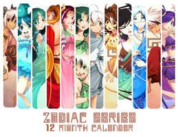 Greek Zodiac Calender by zetallis