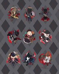 Bloodborne Argyle by zetallis