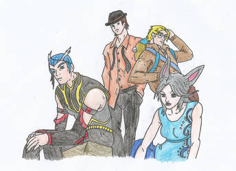 Art contest OC's by TFZ9