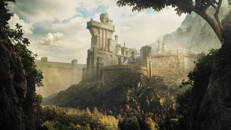 Ancient walled kingdom fin by Daazed-DA