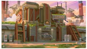 Repair shop by Daazed-DA