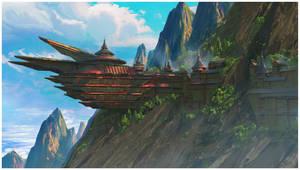Faction Base - Mountain by Daazed-DA