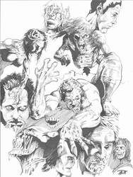marker monsters by Escarleto