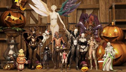 Tera (Happy Halloween ) Wallpaper by h0mez