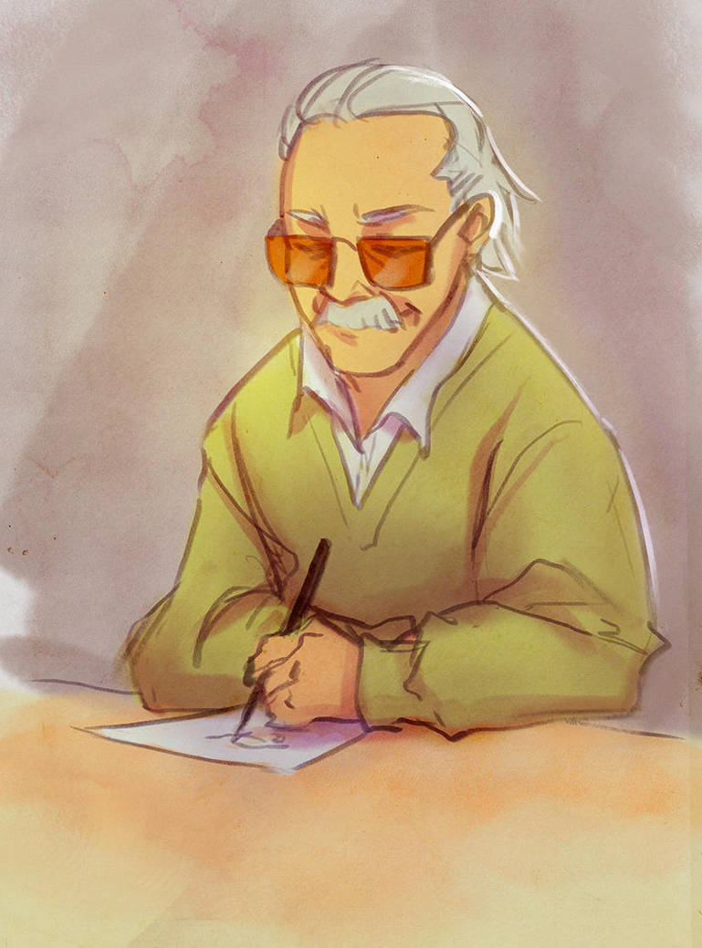 RIP Stan Lee by PurrMia